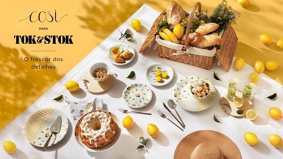 Tok&Stok lança campanha exclusiva com Così Home