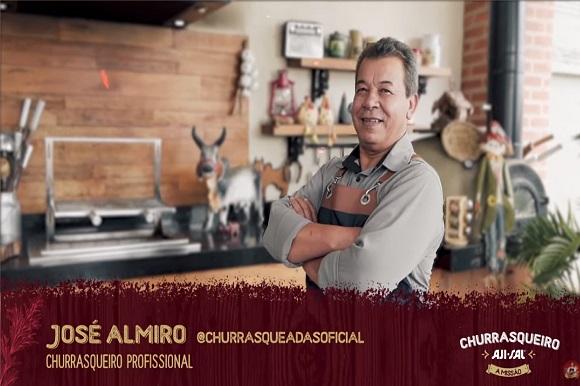 """Churrasqueiro AJI-SAL® - A Missão"" transforma humorista Renato Albani em mestre churrasqueiro"