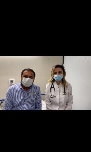 Apresentador Geraldo Luís é internado, tomografia apontou 20% nos pulmões