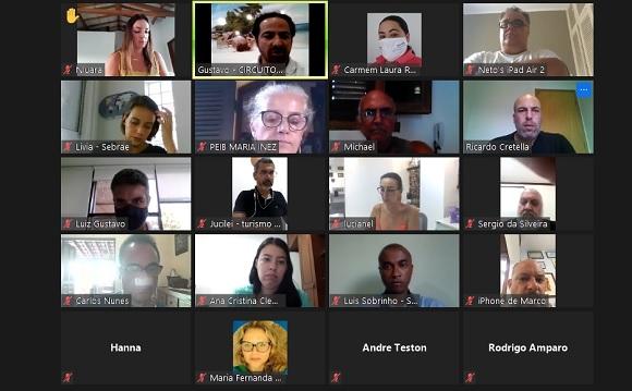 Circuito Litoral Norte de São Paulo reúne em encontro virtual