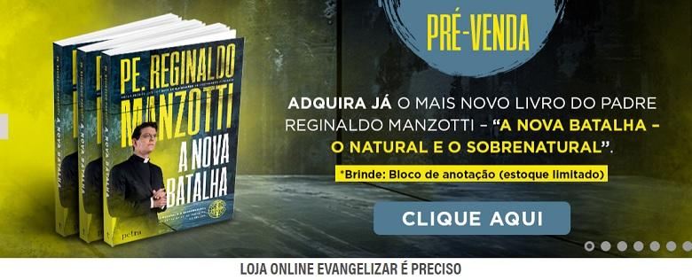 Padre Reginaldo Manzotti lança livro impactante sobre a pandemia hoje dia 01