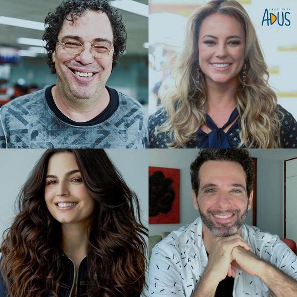Paolla Oliveira, Walter Casagrande Jr., Mouhamed Harfouch e Emanuelle Araújo atuam em prol dos refugiados no Brasil