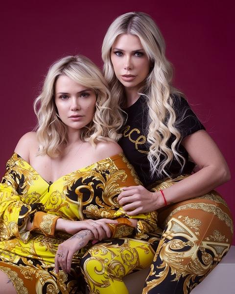 Irmãs Marcela e Mariane Mc Gowan estreia ensaio fotográfico
