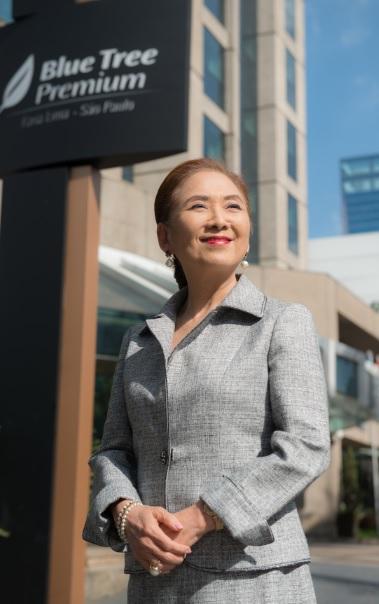 """Chieko Aoki é única da hotelaria no ranking """"100 líderes empresariais com melhor reputação no Brasil"""""""