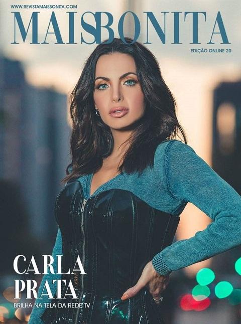 Carla Prata é a capa da Revista MaisBonita edição on line 20