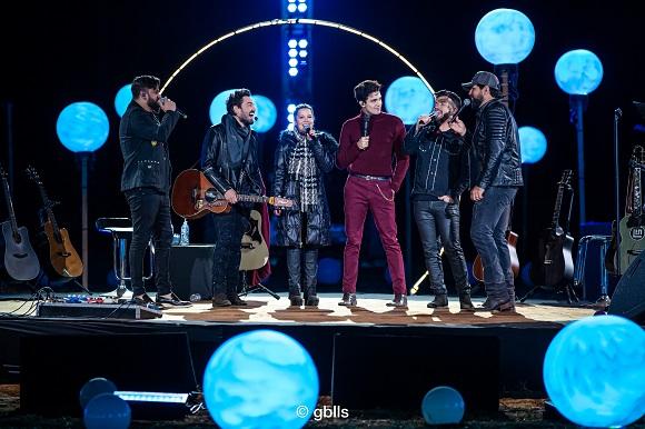 A live que reuniu Luan, Fernando e Sorocaba neste sábado (8) deu show de audiência