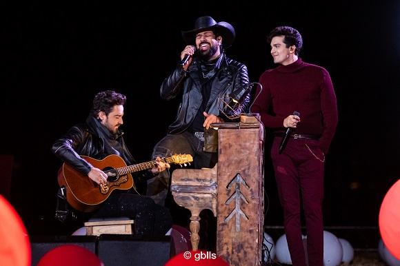 """""""O Início"""" - A live que reuniu Luan, Fernando e Sorocaba neste sábado deu show de audiência"""