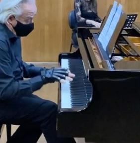 Maestro João Carlos Martins e Daniel Boaventura em live especial da Bachiana Filarmônica Sesi-SP dia (20)