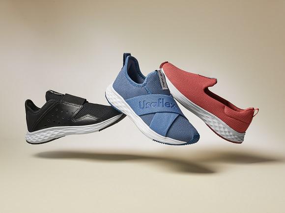 Usaflex faz collab com Rainha e lança linha de tênis em 3 cores para prática de esportes leves