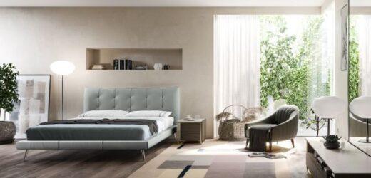 Camas Natuzzi traduzem a estética do conforto