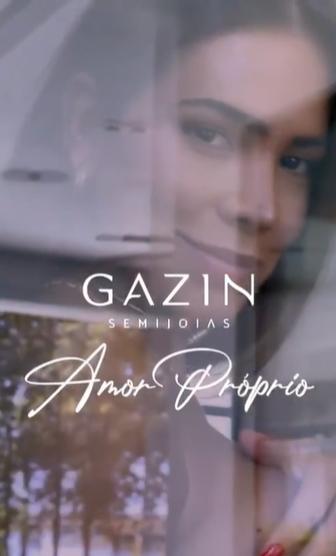 Gazin Semijoias escolhe Adriana Sant'Anna como nova embaixadora da marca