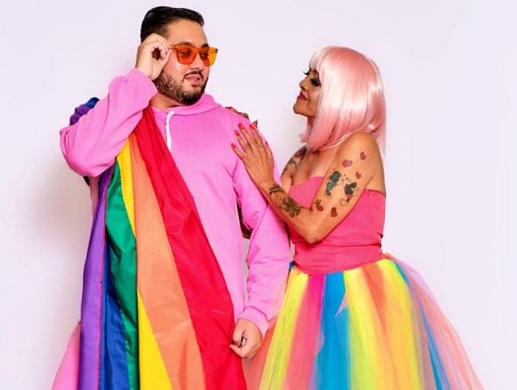 Bruno Bacck, estilista dos famosos, transforma mãe em Drag Queen