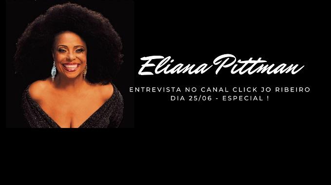 Entrevista com Eliana Pittman no Canal Click Jo Ribeiro