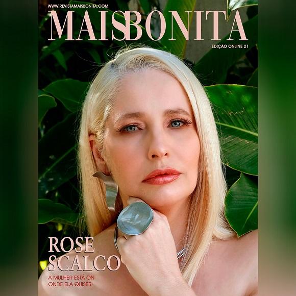 Rose Scalco é capa da Revista MaisBonita Edição On line 21