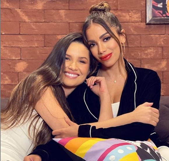 Juliette declara para Anitta: Ela é força, doçura e sorriso. Obrigada pelo colo