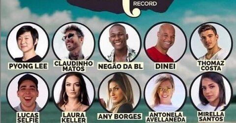 Ilha da Record: Saíu o elenco