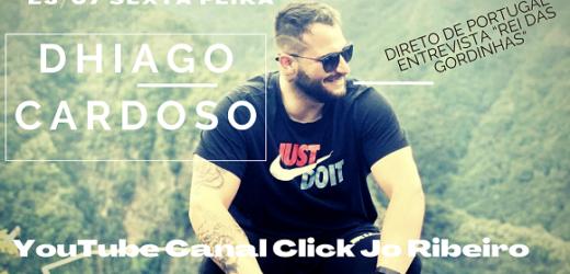 Dhiago Cardoso, o Rei das Gordinhas é entrevistado no canal Click Jo Ribeiro