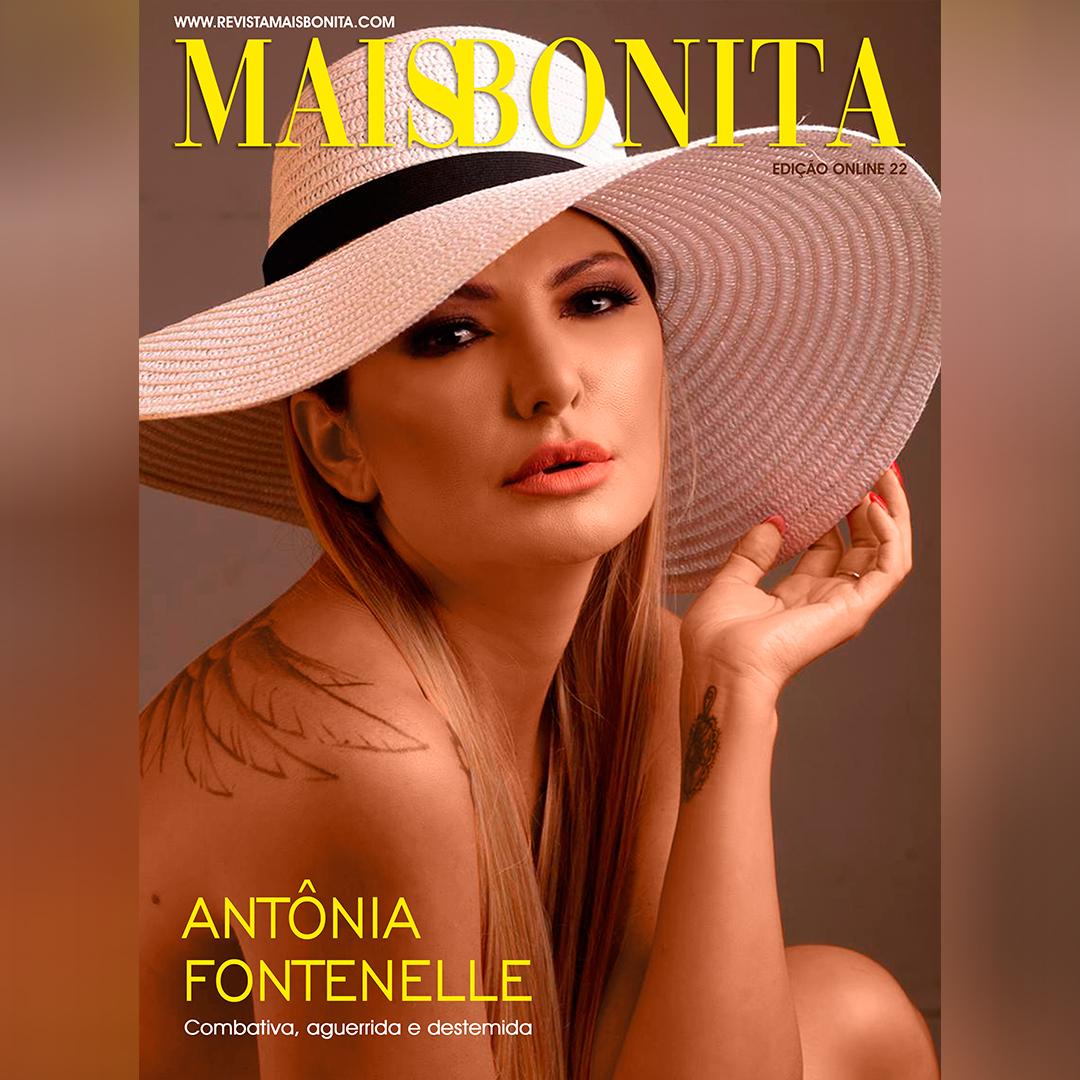 Antônia Fontenelle é a capa da Revista MaisBonita On-line 22ª Edição