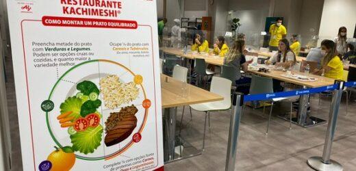 Atletas brasileiros utilizam o Restaurante Kachimeshi