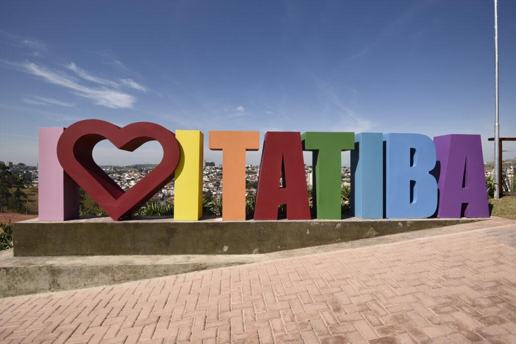 """Itatiba ganha mirante com vista panorâmica e letreiro """"I love Itatiba"""""""