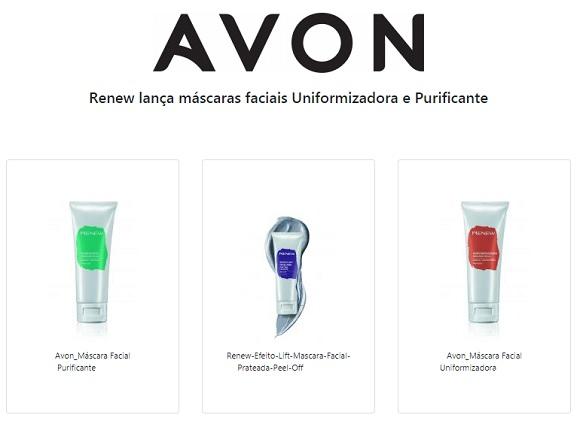 Renew lança máscaras faciais Uniformizadora e Purificante