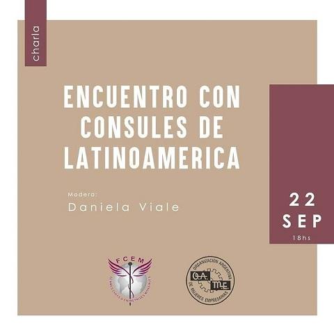 """OBME-Brasil participa do """"Encuentro con Consules de LatinoAmerica"""""""