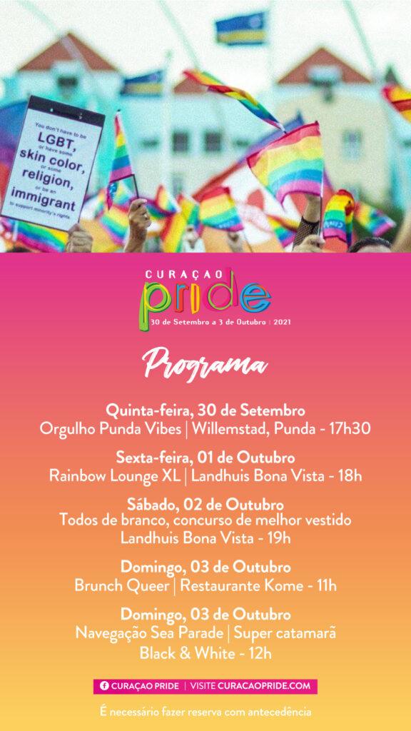 A Curaçao PRIDE Edição 2021, retorna ao calendário anual