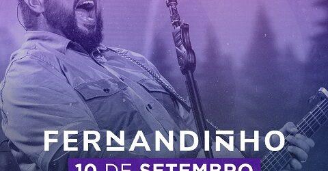Fernandinho faz show de lançamento dia 10 de setembro no Espaço das Américas