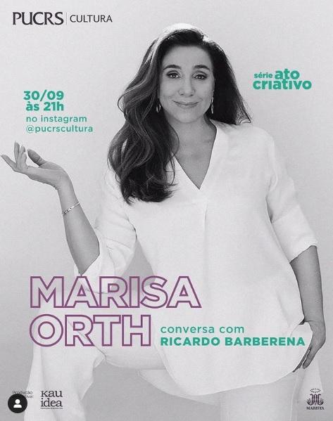 Marisa Orth participa da PUCRS