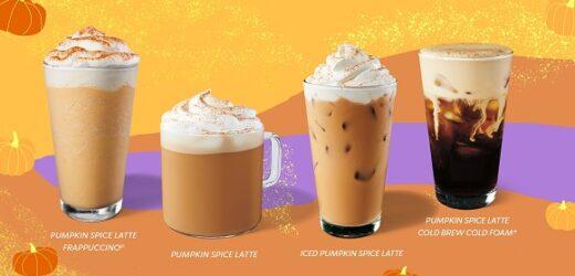 Starbucks Brasil convida  a desfrutarem icônico Pumpkin Spice