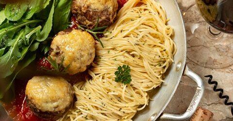 Opções saborosas no delivery do Olivo Cucina e Pizzeria